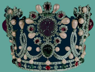 Empress Farah Crown Iran.