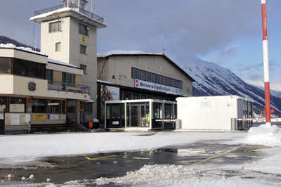 Engadin Airport | Samedan Airport, 5 km from St. Moritz.