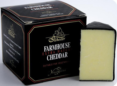 English Farmhouse Cheddar.
