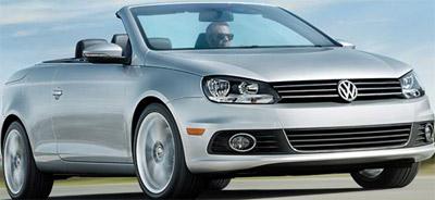 Volkswagen Eos Convertible.