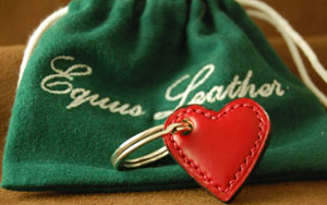 Equus Heart Key Fob: £48.