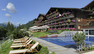 Ermitage Wellness & Spa Hotel, Dorfstrasse 46, 3778 Schönried / Gstaad, Switzerland.