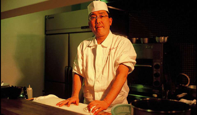 Chef Shintaro Esaki of Esaki.