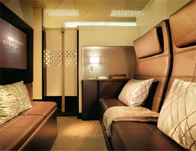 Etihad Airways Suite - 'Redefined luxury'.