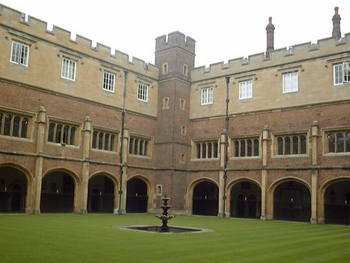 The Cloisters, Eton College, Windsor, Berkshire, England.