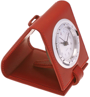 Ettinger Lifestyle Red Front-Operated Travel Clock: €135.