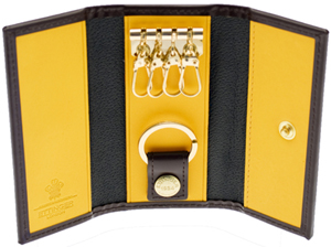 Ettinger Brogue Nut 4-Hook Key Case: €159,50.