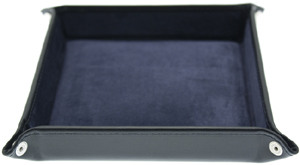 Ettinger Lifestyle Navy Leather Travel Tray: €116.10.