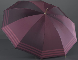 EuroSchirm ladies' Noble polyester bordeaux umbrella: €242,50.