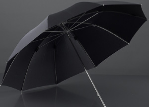 Brillant Luxury Umbrellas Moose leather umbrella: €312,50.
