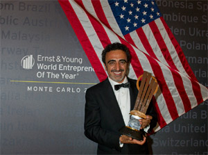 Hamdi Ulukaya of Chobani named Ernst & Young World Entrepreneur Of The Year 2013, Salles des Etoiles, 26 Avenue Princesse Grace, Monte-Carlo, 98000 Monaco.