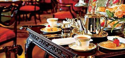 Afternoon Tea at The Fairmont Empress, 721 Government Street, Victoria, British Columbia, Canada V8W 1W5.