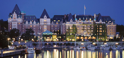 The Fairmont Empress, 721 Government Street, Victoria, British Columbia, Canada V8W 1W5.