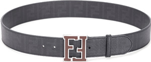Fendi Men's Iconic Buckle Belt.