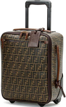Fendi MAN FW12-13 Trolley Luggage.