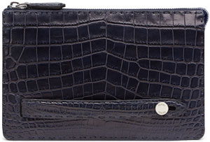 Fendi Men's Crocodile Clutch.