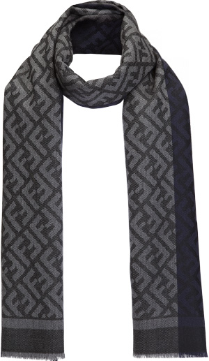 Fendi Men's Color Block Stole.