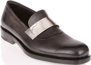 Salvatore Ferragamo Runway Slip-On Shoe: US$1,600.