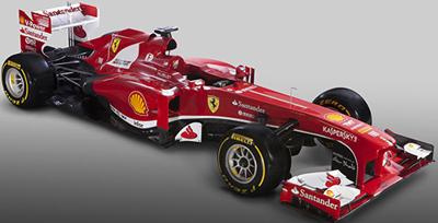 Formula One Scuderia Ferrari F138 unveiled in Maranello.