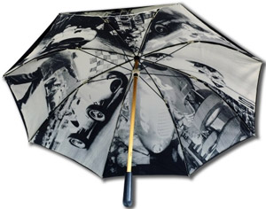 Ferrari Vintage umbrella: €114.