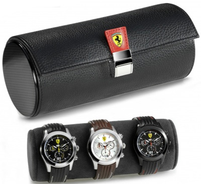 Ferrari travel watch case.