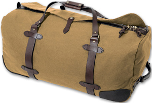 Filson Wheeled Duffle-Large Luggage: US$510.