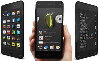 Amazon Fire Phone.