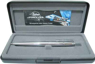 Fisher Space Pen.