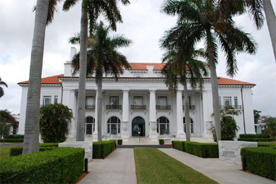 Henry Morrison Flagler Museum, 1 Whitehall Way, Palm Beach, FL 33480.