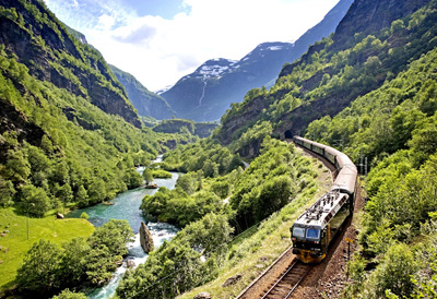The Flåm Railway.