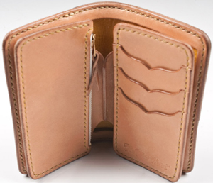 The Flat Head Stockburg Mid-Length wallet: US$575.