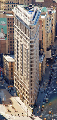 Flatiron Building, 175 5th Avenue & Broadway, New York City, NY 10010, U.S.A.