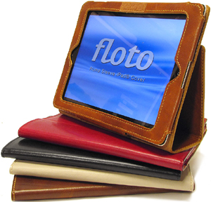 Floto Roma iPad Sleeve: US$119.