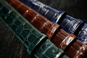 Allan Flusser men's belts.