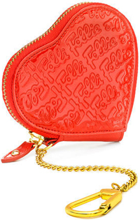 Folli Follie Logomania Heart Coin Purse: €30.