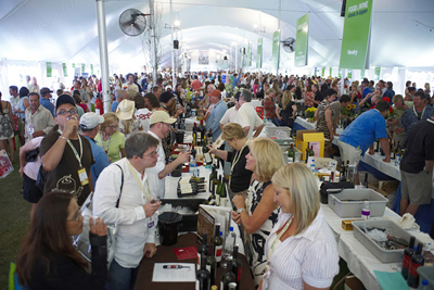 The Grand Tasting Pavilion at the Food & Wine Classic in Aspen, CO, U.S.A.
