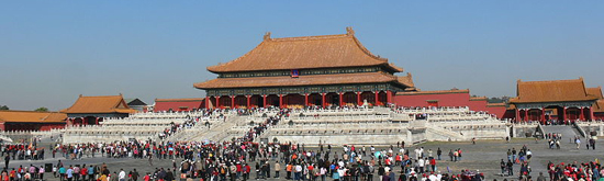 The Forbidden City (Beijing, China), chief designer & builder: Nguyen An.