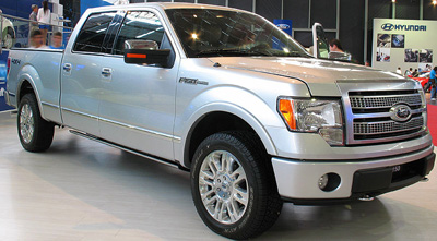Ford F-150 Platinum (2009).