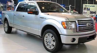 Ford F-150 Platinum (2009).