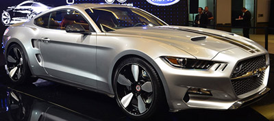 Ford Mustang Rocket 2015.