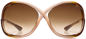 Tom Ford Whitney Oversized Soft Round Women's Sunglasses: US$395.