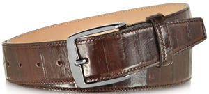 Forzieri Brown Eel Leather Men's Belt: US$258.