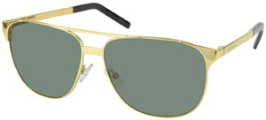 Forzieri Saint Laurent CLASSIC 13 000F9 Gold Men's Sunglasses: US$395.