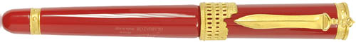Forzieri Stipula Gladiator Red Fountain Pen: US$475.
