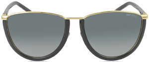 Forzieri Jimmy Choo MILA/S WL4HD Gold and Black Women's Sunglasses: US$340.