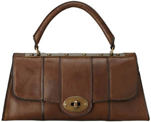 Fossil Women's Vintage Revival Top Handle Flap Handbag: £185.