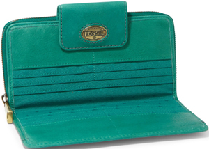 Fossil Explorer Zip Clutch Women's Wallet: £69.