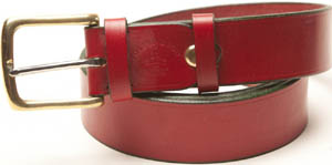 Foster & Son Men's Custom Belts: £145.