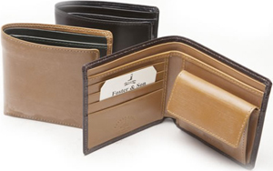 Foster & Son Wallet with Coin Purse: £135.