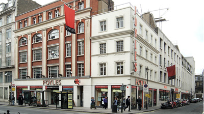 Foyles, 113-119 Charing Cross Road, London WC2H 0EB, England, U.K.